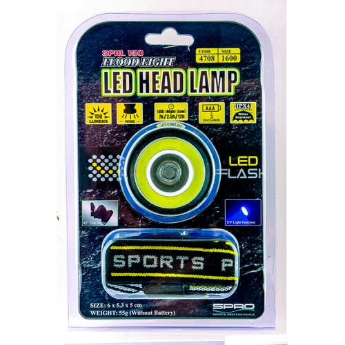 ČELOVKA – LED HEAD LAMP SPHL150UV - 2019