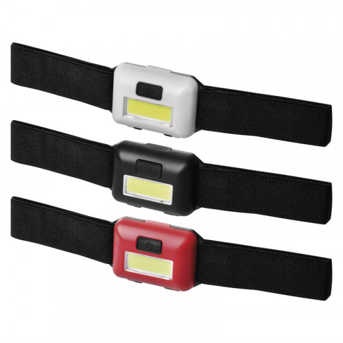 COB LED čelovka P3538, 110 lm, 3× AAA