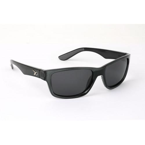 Polarizační brýle MATRIX - Trans Black Casual/Grey Lense
