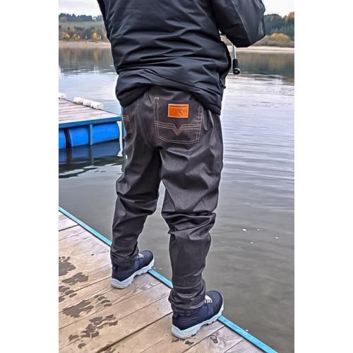 SAVAGE GEAR brodící kalhoty DENIM WAITS WADERS (stocking foot)