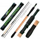 Green Arrow Feeder 3,6m Medium 50-90g - díly 3+3 SENSAS